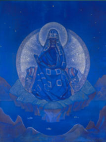 «The Mother of the World» by Nicholas Roerich, 1924