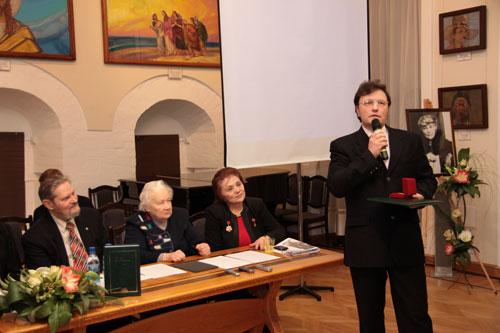В.Г.Соколов, Лауреат Международной премии имени Е.И.Рерих 2009 года